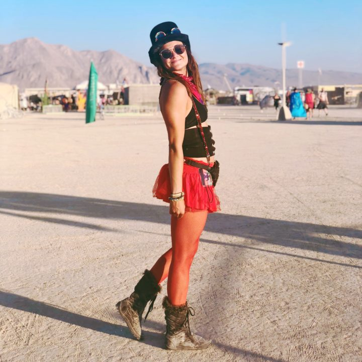 steampunk burning man outfit