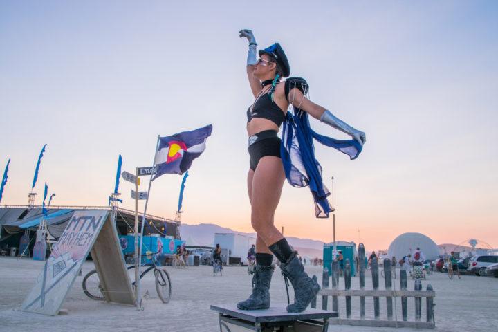 My Budget Burning Man Costumes: Garage Sales, Hand Made + Amazon