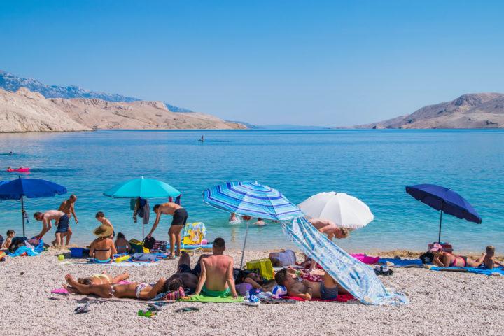 beaches in croatia pag island zrce festivals