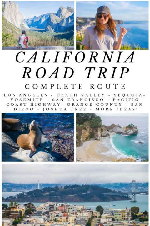 The perfect California road trip including absolutely all the things to do in California in a choose-your-own-adventure style. Do all of these California Road Trip ideas or just a few, it's up to you! From La + San Francisco To Yosemite and Joshua Tree to Pacific Coast Highway, this itinerary has you covered.