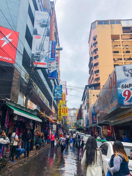 ciudad del este paraguay shopping streets