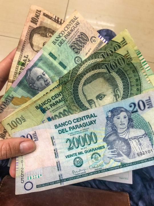 paraguay money ciudad del este shopping