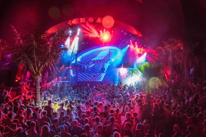 best festivals in croatia - hideout croatia noa beach club