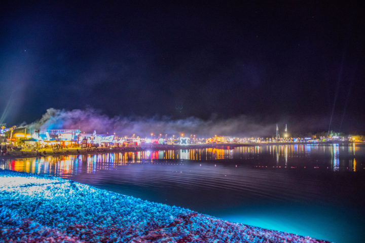 zrce beach at night festivals in Croatia