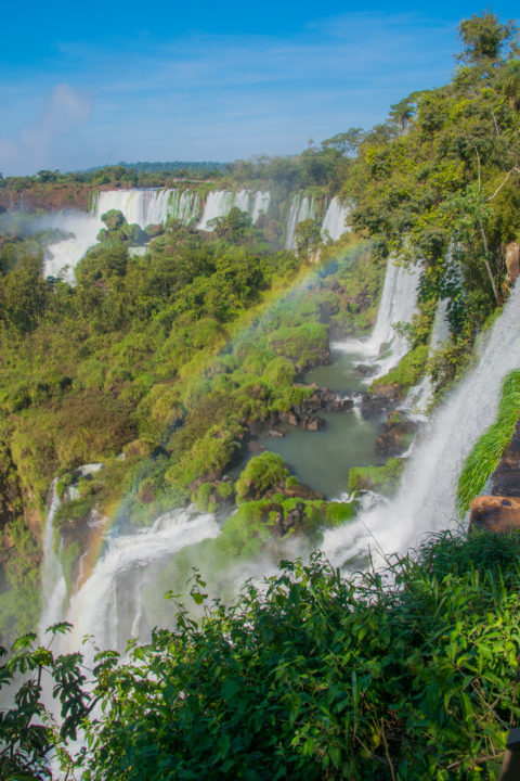 visiting iguazu falls is one of the best things to do in argentina!