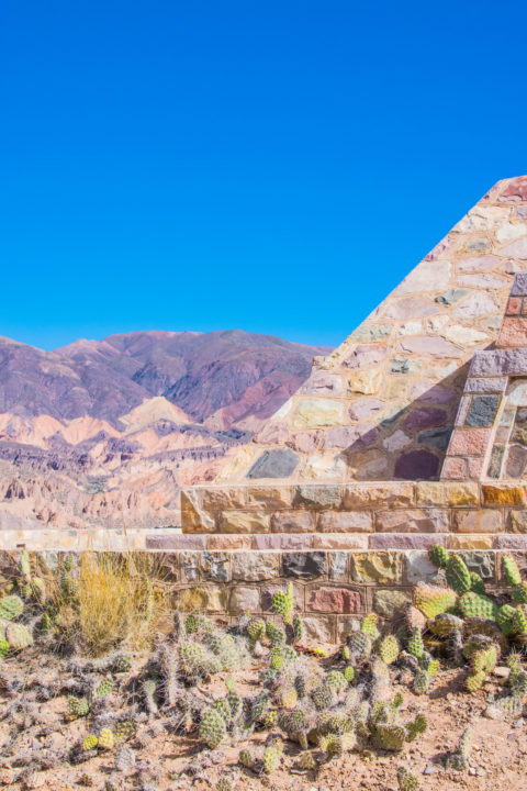 The Pucara de Tilcara is in the Humahuaca Gorge in Northern Argentina and is an ancient Inca fortress!