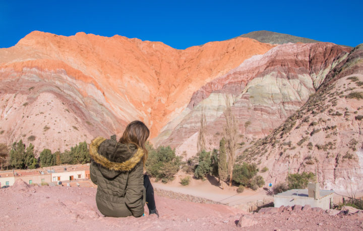El Cerro de Siete Colores, or the Hill of 7 Colors, is an incresible wonder in Northwestern Argentina.