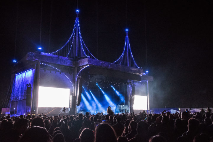 outside lands lineup festival review main stage lights