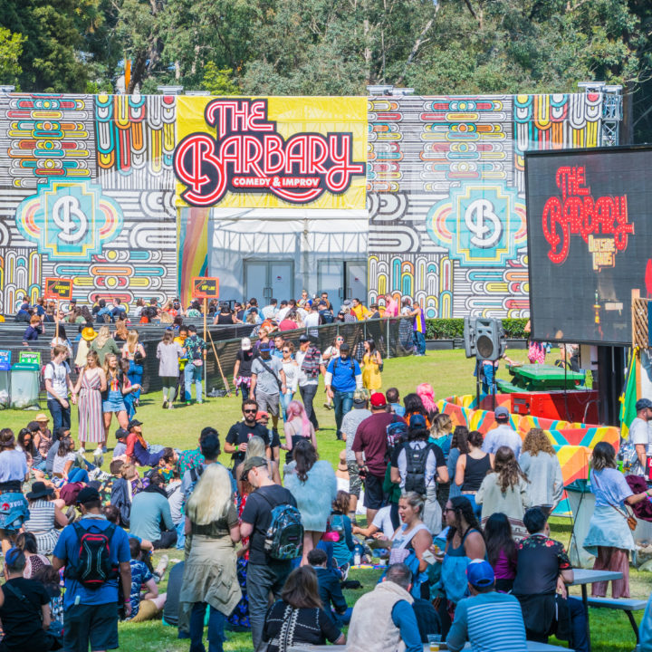 the barbary outside lands comedy