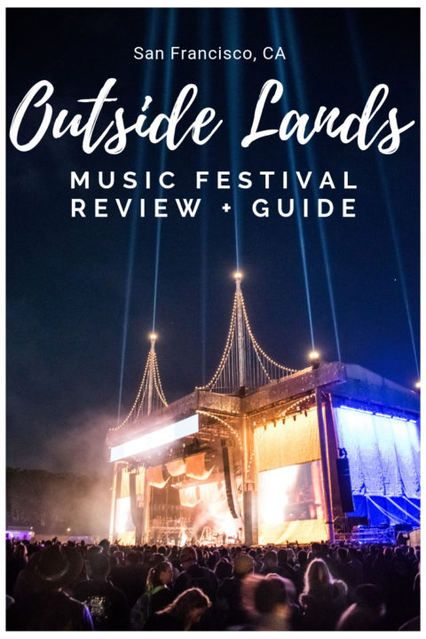 This Outside Lands Music Festival Review + Guide breaks down Outside Lands into 18 Categories to tell you everything you could possibly need to know about this festival! Including Lineup, crowd, food + drink, security, atmosphere, money, tickets, and more.