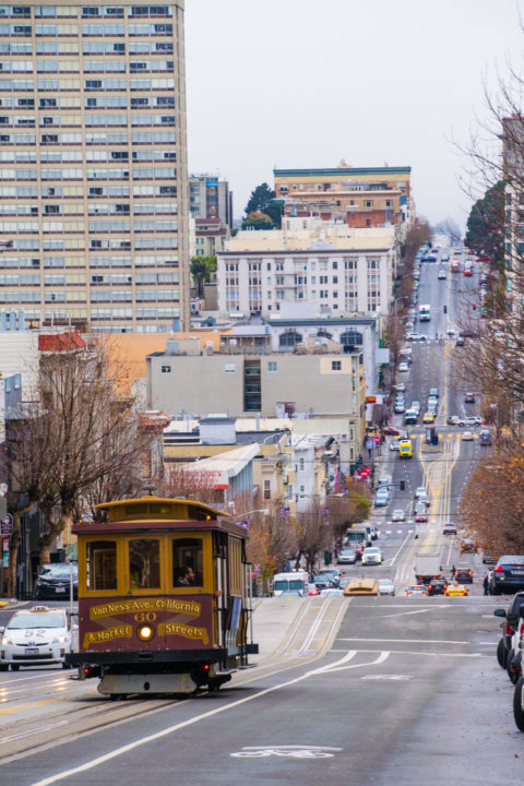 san francisco street view california