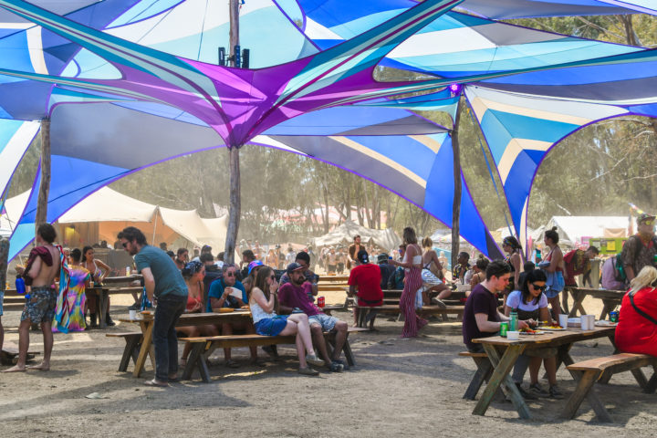 Strawberry Fields festival food and drunk options