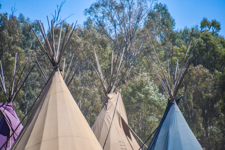 Strawberry Fields festival glamping options WOW tents
