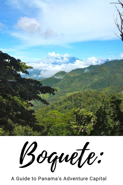 Guide to Boquete Panama: Panama's adventure capital with mountains, a volcano, jungles, hiking, and more! #panama #boquete #centralamerica #boquete #travel