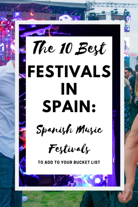 A list of Festivals in Spain: The 20 best Spanish Music festivals to add to your bucket list, ranked by sales amount and awesomeness. EDM festivals in spain, cultural festivals in spain, and rock festivals in spain are all included.