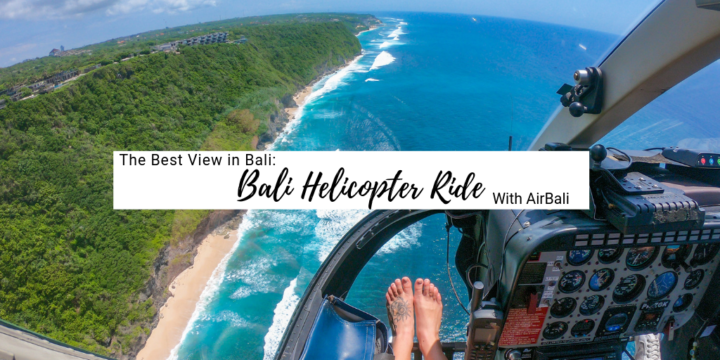 The Best View in Bali: Bali Helicopter Ride with AirBali