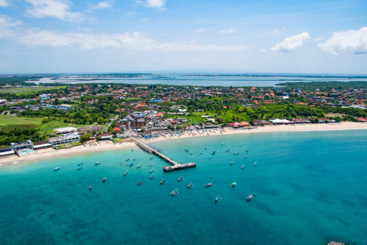 bali helicopter ride best views in bali beach boats