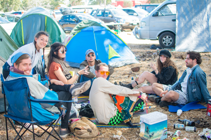 camping review pitch festival