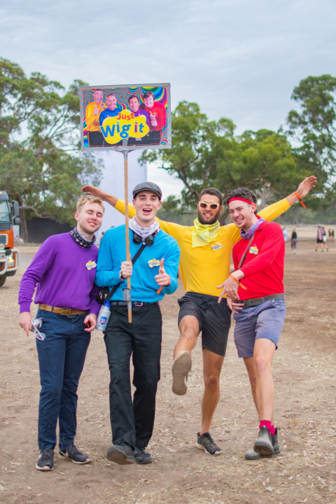 the wiggles dress up pitch music festiva