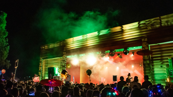 pitch music festival night RA stage