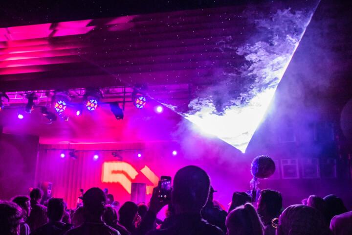 rain lasers music festival pitch