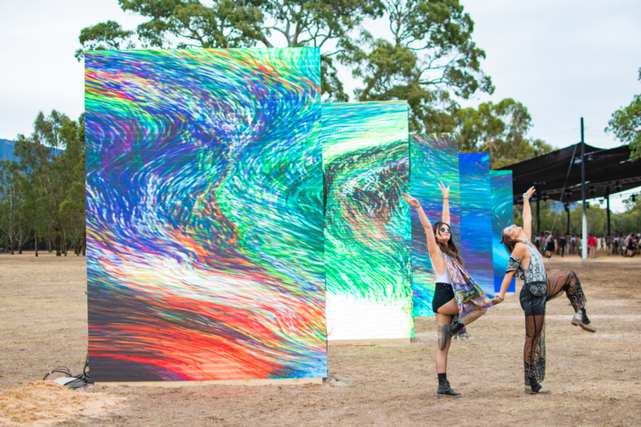 pitch art installations pitch festival victoria