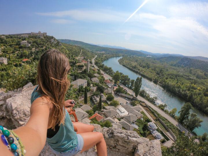 pocitelj castle mostar bosnia herzegovina