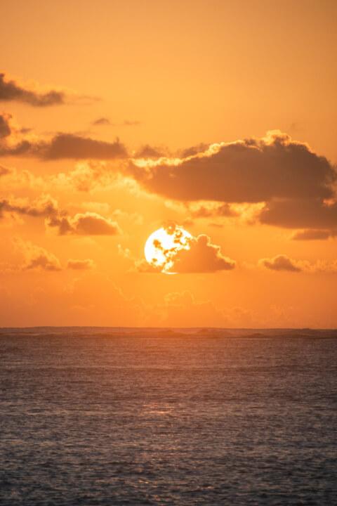 gizo sunset sandbarsolomon islands tourism