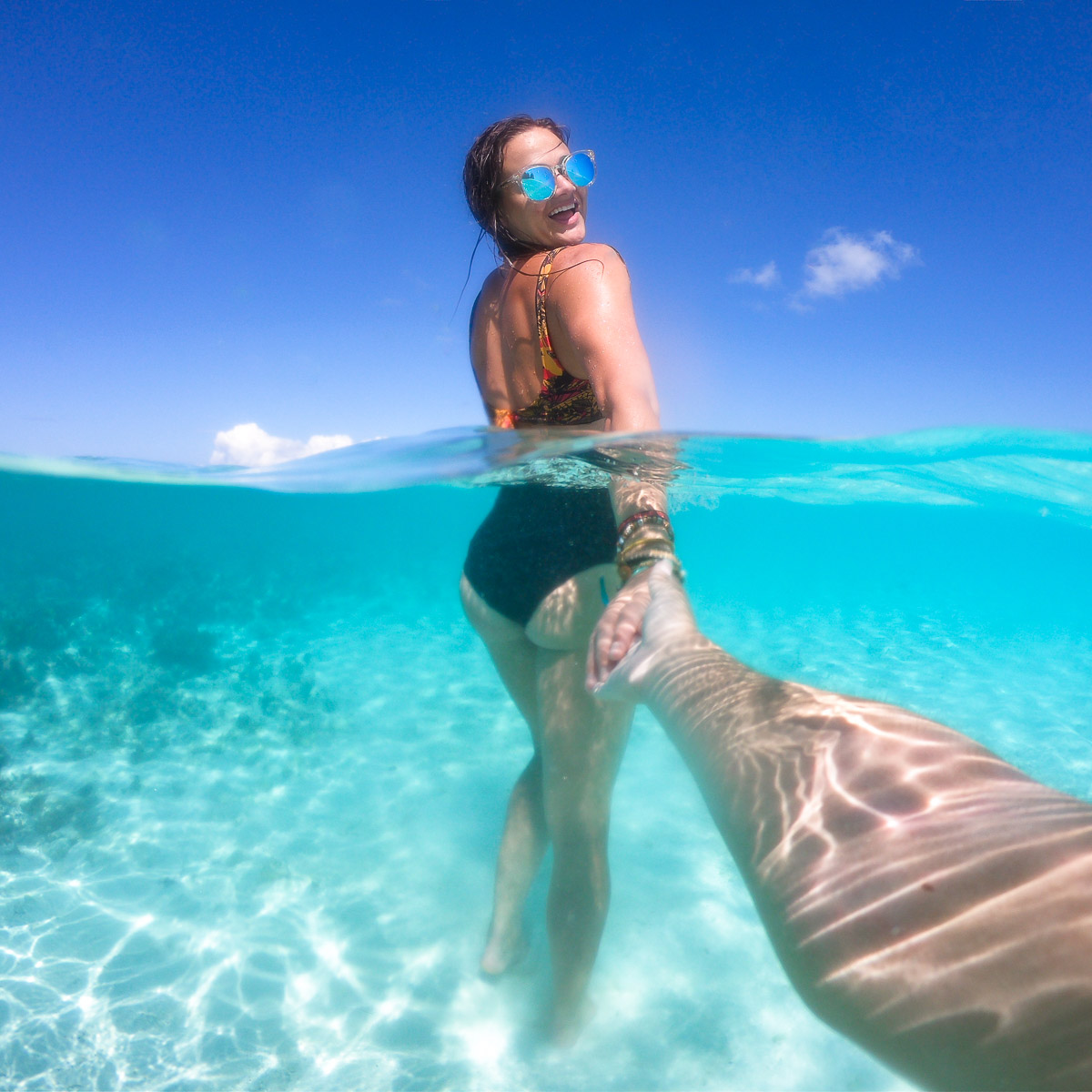 gizo clear blue water follow me to solomon islands go pro kimmie conner travel blogger