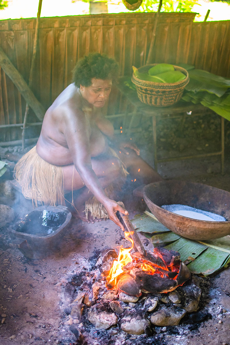 traditional cooking solomon islands