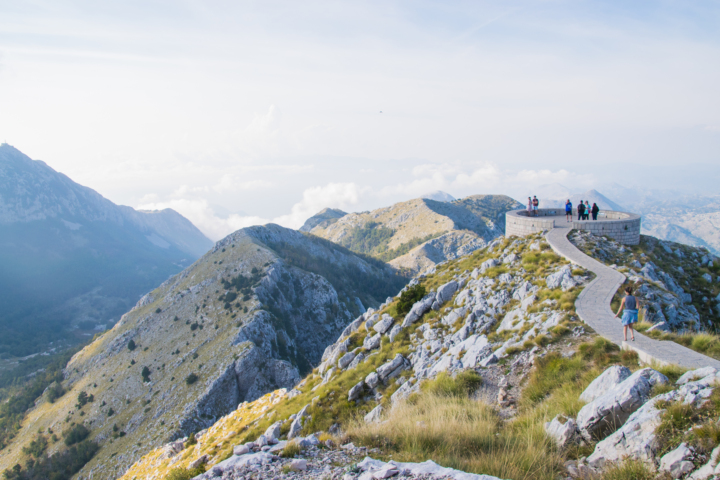 lovcen national park viewpoint