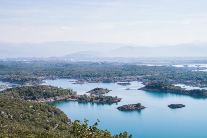 slansko lakes montenegro best views