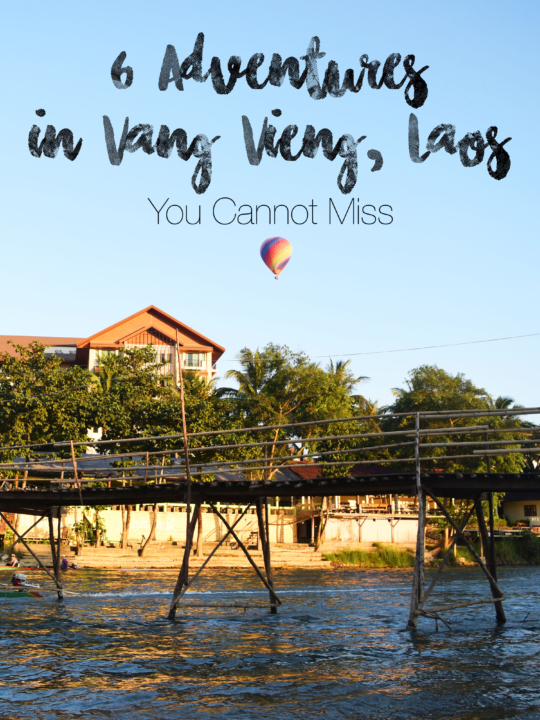 6 adventures in vang vieng, Laos not to miss on your trip to one of the most underrated countries in Southeast Asia!