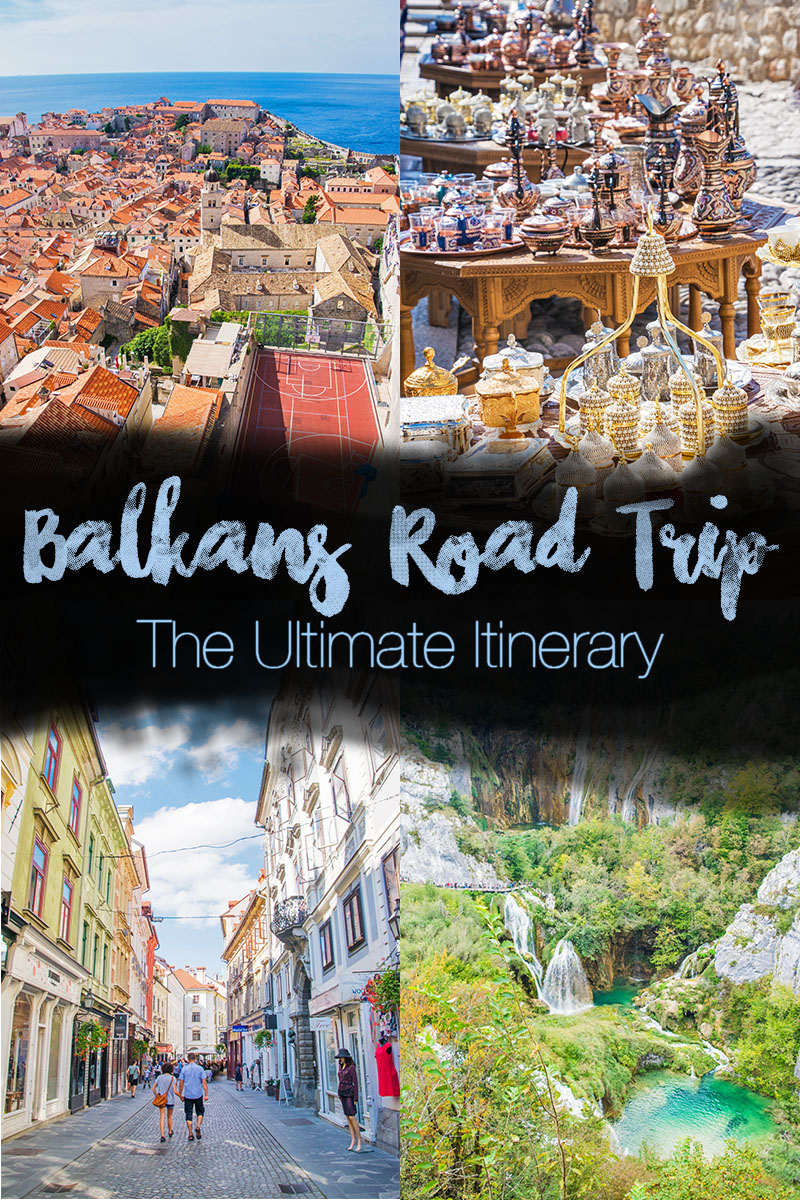 the ideal balkans itinerary with sights through croatia, montenegro, slovenia, and bosnia and herzegovina. STart riding ferries through the Croatian islands, then rent a car for the ideal Balkans road trip through national parks, coasts, mountains, and more. #balkansroadtrip #balkans #croatia #slovenia #montenegro #bosnia