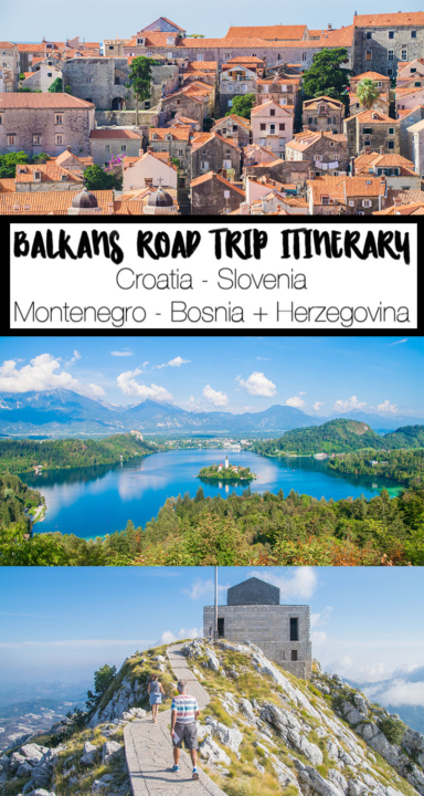 The ideal western Balkans Road Trip - including nearly 3 weeks worth of destinations throughout Croatia, Slovenia, Bosnia + Herzegovina, and Montenegro. What to do, where to stay, where to eat, and more for each destination, plus opportunities to extend the Balkans itinerary to see even more!