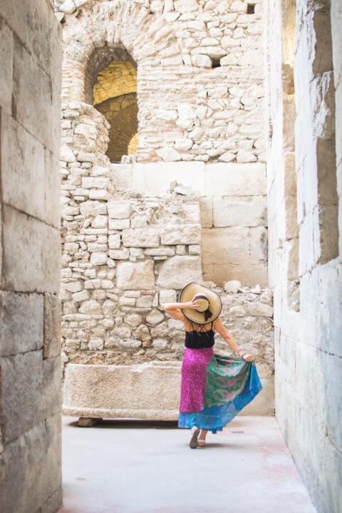 visiting split croatia as a stop on a balkans itinerary / balkan road trip