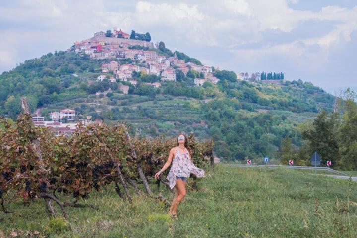 motovun croatia - visiting istria as astop on a balkans road trip