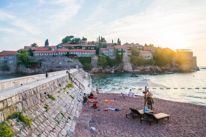 sveti stefan montenegro balkans itinerary