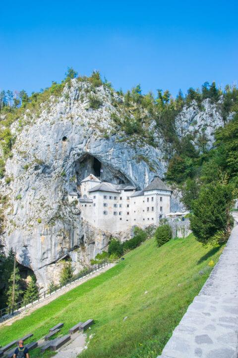 predjama castle slovenia balkans road trip
